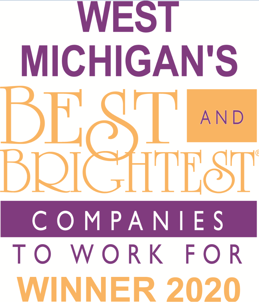 West Michigan Best & Brightest 2020 Logo