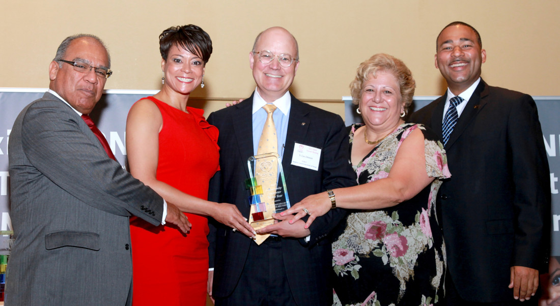 2013 Community Supporter of the Year by Matrix Human Services