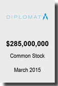 Diplomat $285,000,000 March 2015