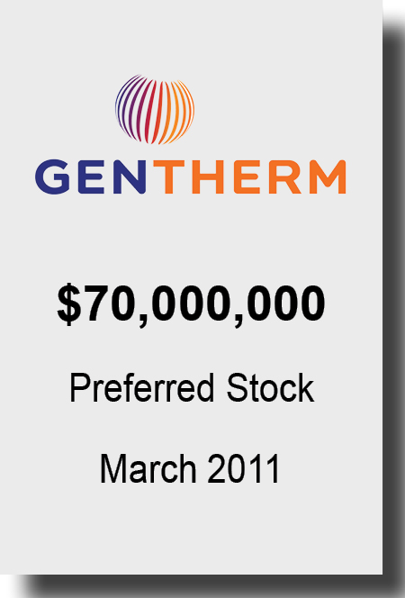 Gentherm March 2011