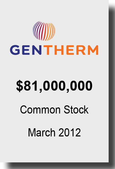 Gentherm Mar 2012