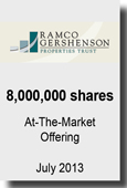 RAMCO - 8,000,000 Shares At-The-Market Offering