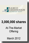 RAMCO - 3,000,000 Shares At-The-Market Offering