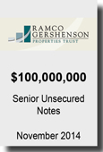 RAMCO - Senior Unsecured Notes Nov. 2014