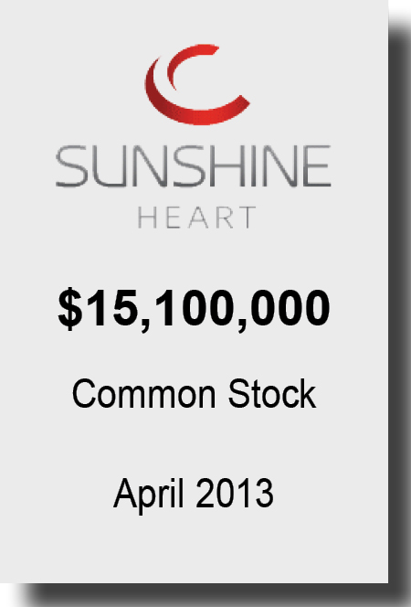 Sunshine Heart April 2013