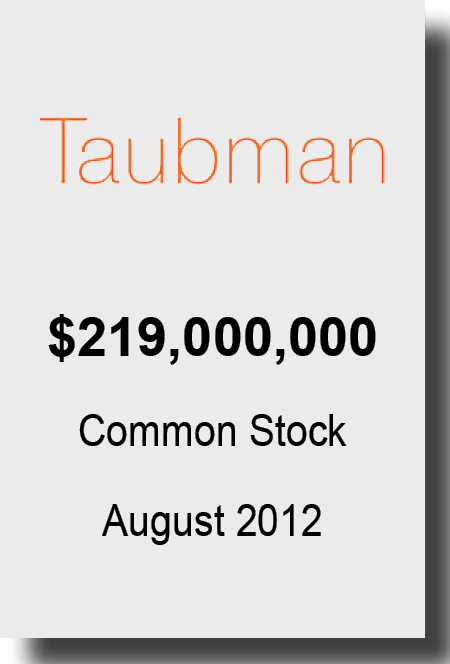 Taubman Aug 2012