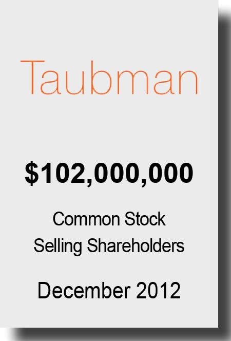 Taubman Dec 2012