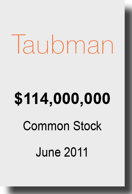 Taubman June 2011